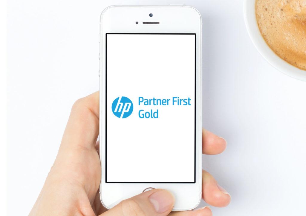 HP Gold First Partner